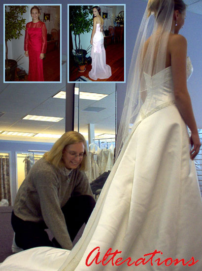 Alterations & Beyond: Wedding Attire Alterations